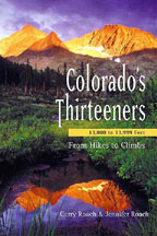 Colorado's Thirteeners - 1st Edition